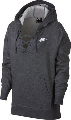 Nike Women's Sportswear Lace-Up Hoodie