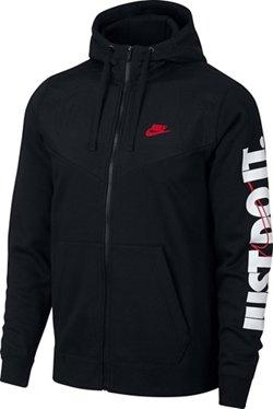 Nike Men's Sportswear Full Zip Fleece Hoodie