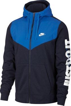 Men's Sportswear Full Zip Fleece Hoodie