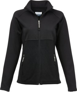 Magellan Outdoors Women's Softshell Hybrid Full Zip Jacket