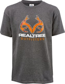 Realtree Boys' Short Sleeve T-shirt