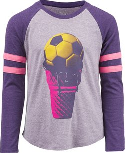 Girls' Soccer Ice Cream T-shirt