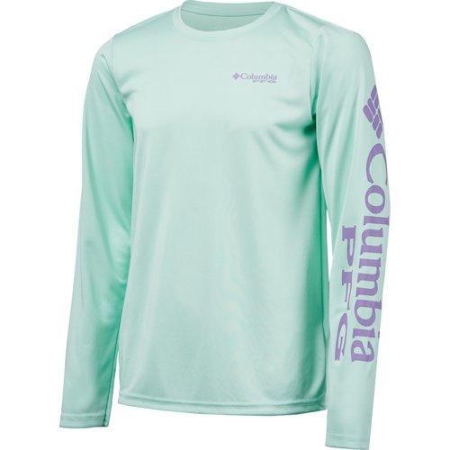 Columbia Sportswear Girls' PFG Terminal Tackle Long Sleeve T-shirt