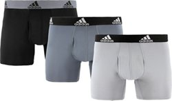 adidas Men's climalite Trunks 3-Pack