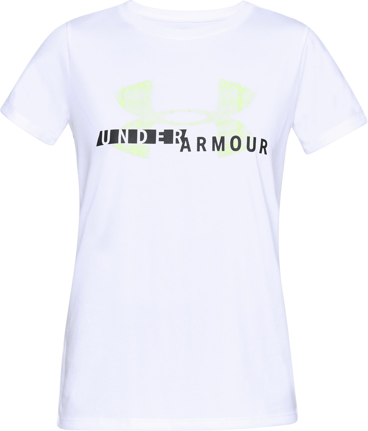 89ce2eee Shirts & Tees Under Armour Womens Tech Short Sleeve Crew Graphic Under  Armour Apparel 1318143 Athleisure