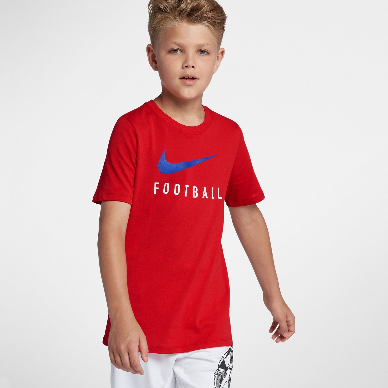Nike Boys' Swoosh Football T-shirt - view number 7