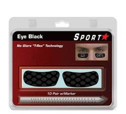 Sportstar T-Rex Eye Black Stickers 10-Pack