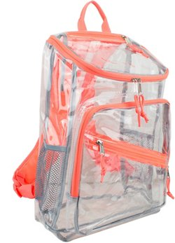 Eastsport Clear Top-Loader Backpack