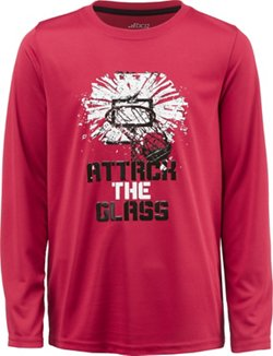 BCG Boys' Attack the Glass Long Sleeve T-shirt