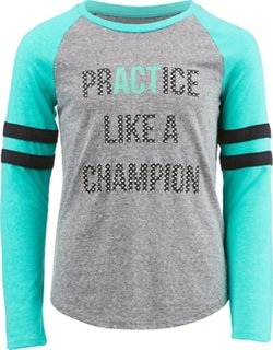 BCG Girls' Practice Like A Champion Long Sleeve T-shirt