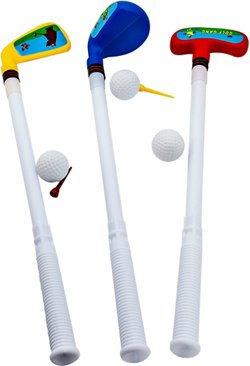 JEF World of Golf Kids' Plastic Golf Set