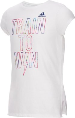 adidas Girls' Train to Win T-shirt