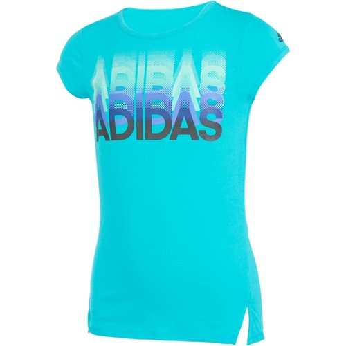 adidas Girls' Every Day Is Run Day T-shirt