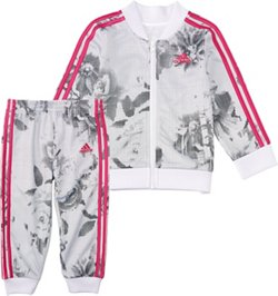adidas Girls' Floral Bomber Set