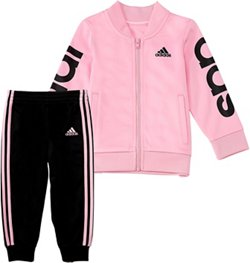 adidas Girls' Linear Jacket Set