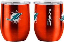 Boelter Brands Miami Dolphins 16 Oz Curved Ultra Tumbler
