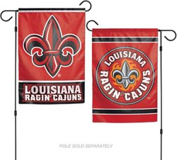 WinCraft University of Louisiana at Lafayette 2-Sided Garden Flag