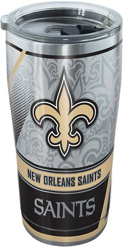 Tervis New Orleans Saints Edge 20 oz Stainless-Steel Tumbler