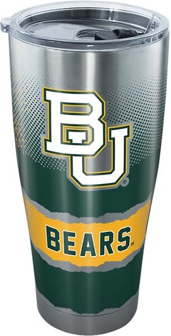 Baylor University Knockout 30 oz Stainless Steel Tumbler