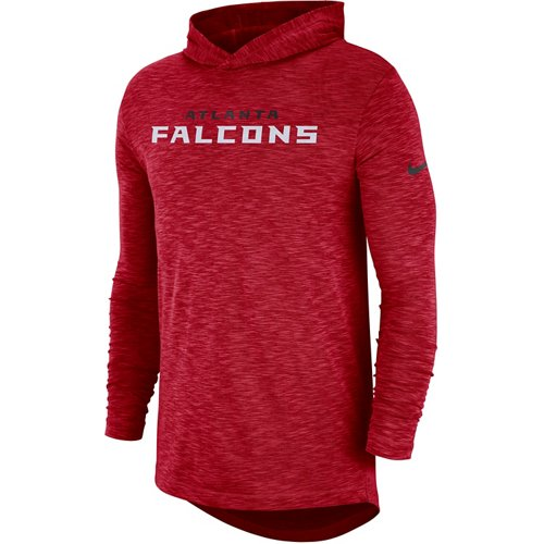 Nike Men's Atlanta Falcons Long Sleeve Hoodie T-shirt