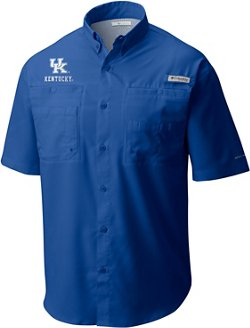 Columbia Sportswear Men's University of Kentucky Tamiami Fishing Shirt