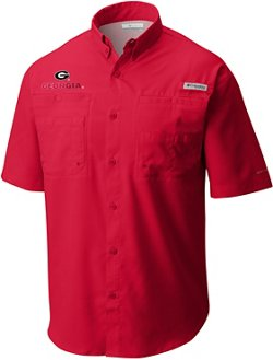 Columbia Sportswear Men's University of Georgia Tamiami Fishing Shirt