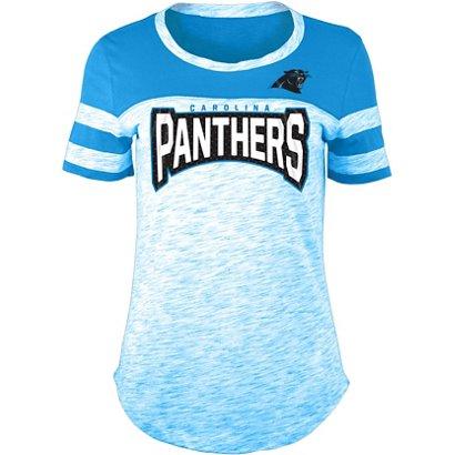5th   Ocean Clothing Women s Carolina Panthers Space Dye Fan T-shirt ... 69c6afb4e2