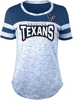 Women's Houston Texans Space Dye Fan T-shirt