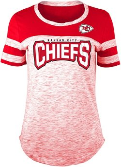 Women's Kansas City Chiefs Space Dye Fan T-shirt
