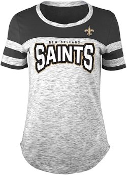 Women's New Orleans Saints Space Dye Fan T-shirt