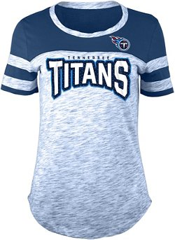 Women's Tennessee Titans Space Dye Fan T-shirt