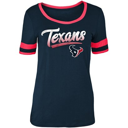 5th   Ocean Clothing Women s Houston Texans Scoop Neck T-shirt  e3c7db0a7