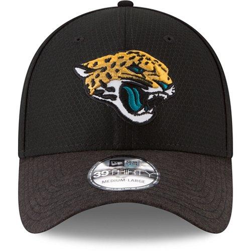 New Era Men's Jacksonville Jaguars 39THIRTY Popped Shadow Flex Fit Cap