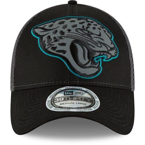 New Era Men's Jacksonville Jaguars 39THIRTY Megaflect Cap