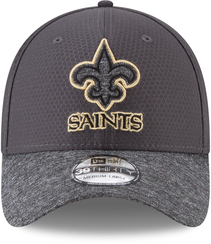 9f6273df71bb40 New Era Men's New Orleans Saints 39THIRTY Popped Shadow Cap | Academy