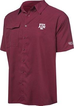 Men's Texas A&M University Flyweight Button Down Shirt