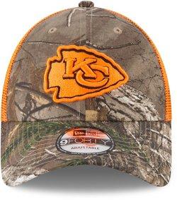 New Era Men's Kansas City Chiefs 9FORTY Realtree Trucker Cap