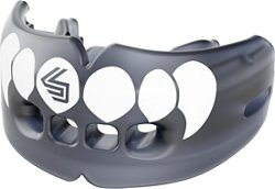 Shock Doctor Adults' Fang Double Braces Mouth Guard