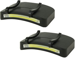Promier COB LED Clip-On Cap Headlamps 2-Pack