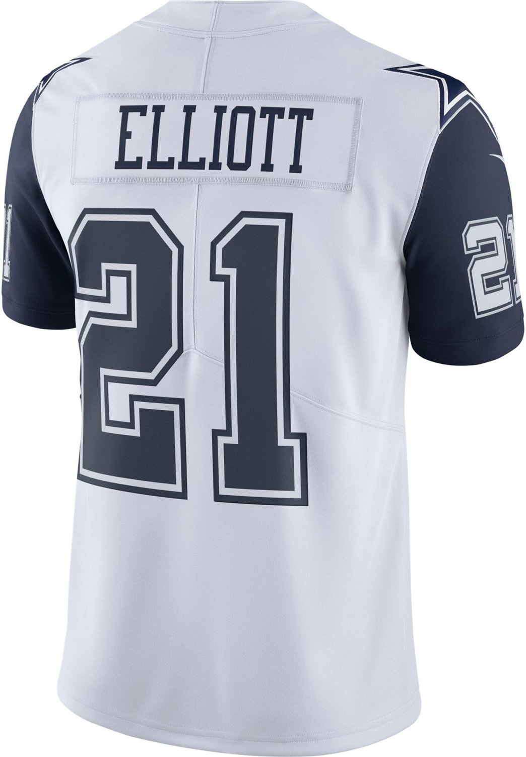 wholesale dealer 7c834 3fd14 Nike Men's Dallas Cowboys Ezekiel Elliott XC1 Color Rush Jersey
