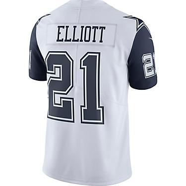 wholesale dealer b2d64 f6f5a Nike Men's Dallas Cowboys Ezekiel Elliott XC1 Color Rush Jersey