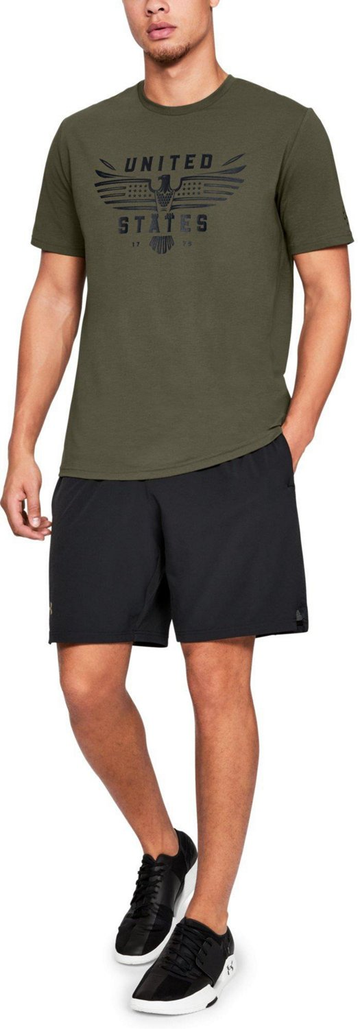Under Armour Men's Freedom US Eagle T-shirt - view number 4