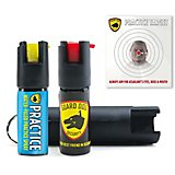 Guard Dog Security Hardcase Pepper Spray And Practice Spray