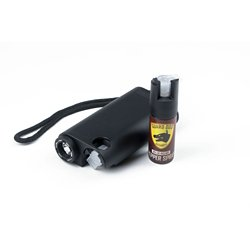 Olympian 3-In-1 Stun Gun, Pepper Spray And Tactical Flashlight