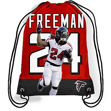 first rate 7d83b 72864 Forever Collectibles Atlanta Falcons Devonta Freeman 24 Drawstring Backpack