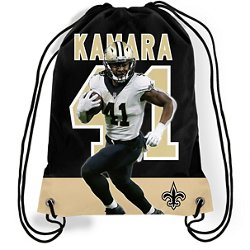 Forever Collectibles New Orleans Saints Alvin Kamara 41 Drawstring Backpack