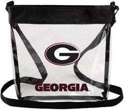 Forever Collectibles Georgia Bulldogs Long-Strap Tote Bag
