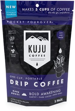 Kuju Coffee Bold Awakening Pocket Pour Packets 5-Pack