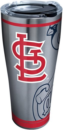 St. Louis Genuine Cardinals 30 oz Stainless-Steel Tumbler