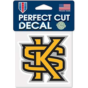 8 x 8 WinCraft NCAA Kennesaw State University Perfect Cut Color Decal